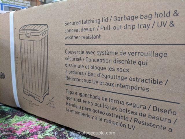 Keter Outdoor Waste Bin Costco