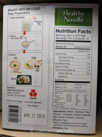 Kibun Foods Healthy Noodle Costco