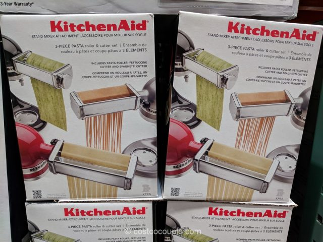 KitchenAid Pasta Roller and Cutter Set Costco