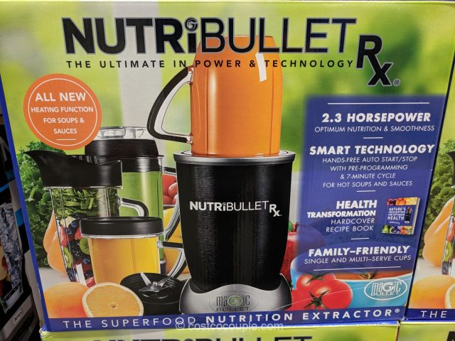 Nutribullet RX 12-Piece Set Costco
