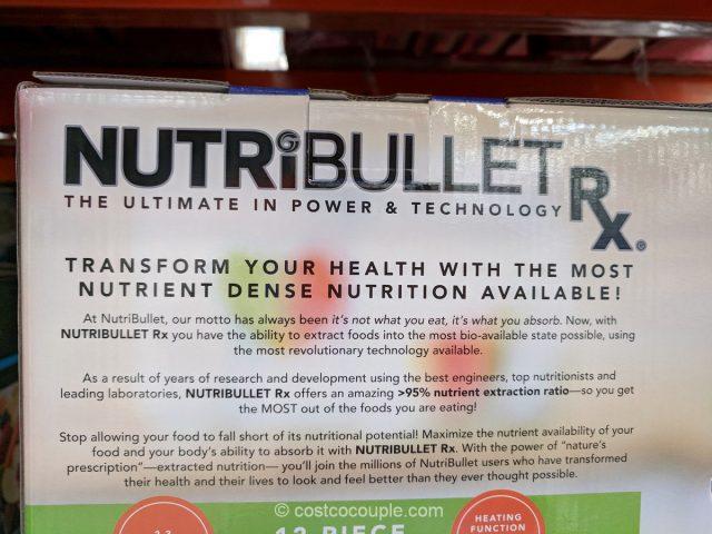 Nutribullet RX 12-Piece Set Costco