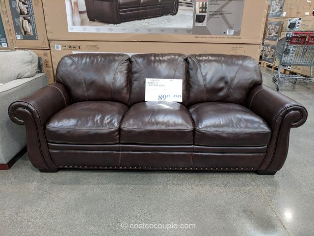 Simon Li Leather Sofa