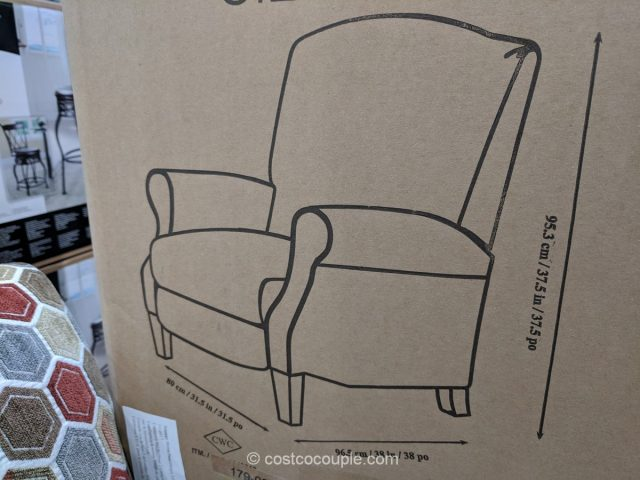 Synergy Fabric Recliner Costco