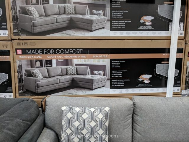 True Innovations Fabric Sectional Costco
