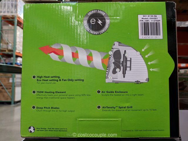 Vornado Personal Heater Costco