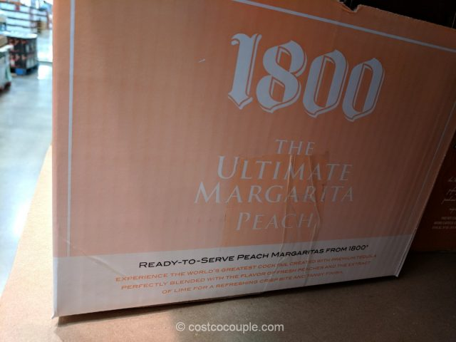1800 Ultimate Peach Margarita Costco