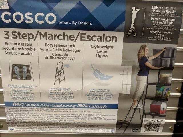 Cosco 3 Step Stool Costco