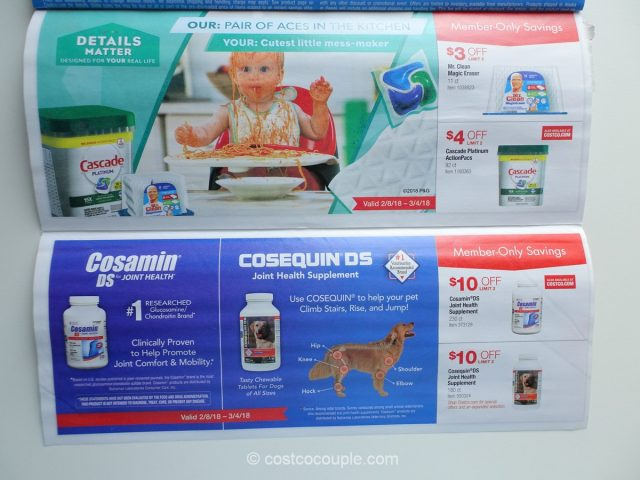 Costco February 2018 Coupon Book 02/08/18 to 03/04/18