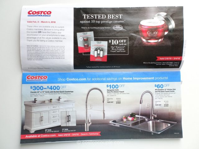 Car Wash Vacuum >> Costco February 2018 Coupon Book 02/08/18 to 03/04/18