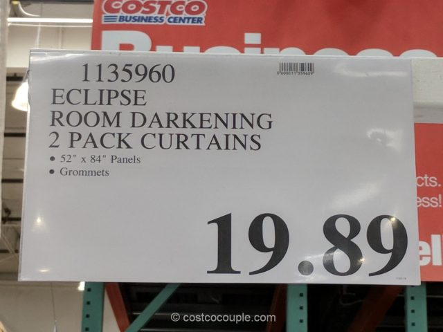 Eclipse Room Darkening Curtains Costco