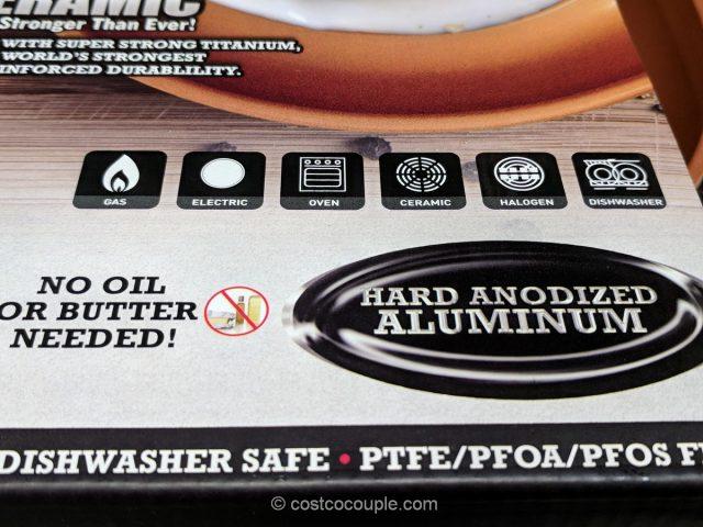 Gotham Pro Ceramic Non-Stick Pans Costco