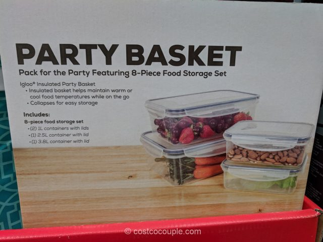 Igloo Insulated Party Basket Costco