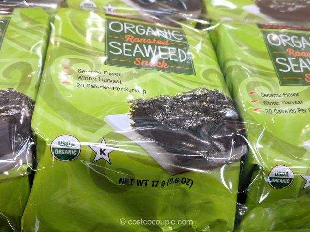 Kirkland Signature Organic Roasted Seaweed Costco