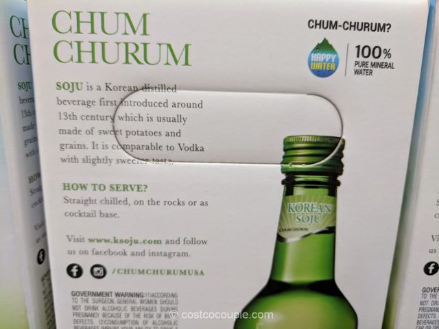 Lotte Chum Churum Soju Costco