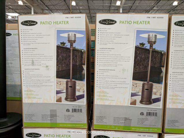 Mocha Commercial Patio Heater Costco