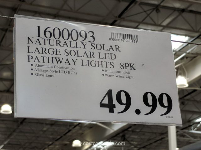 Naturally Solar Solar Led Pathway Lights