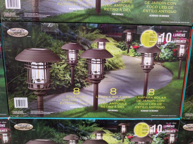 Naturally Solar Pathway Lights Costco