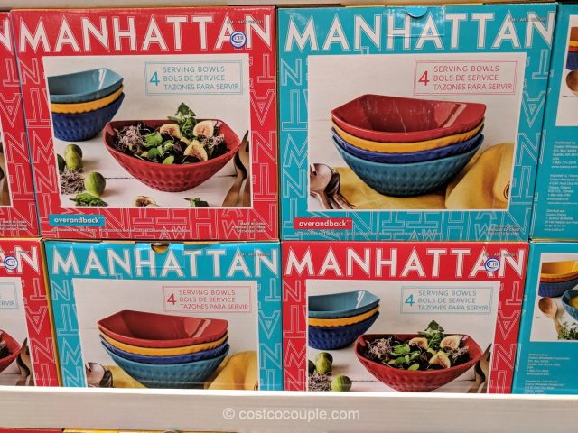 Over and Back Manhattan Serving Bowl Set Costco