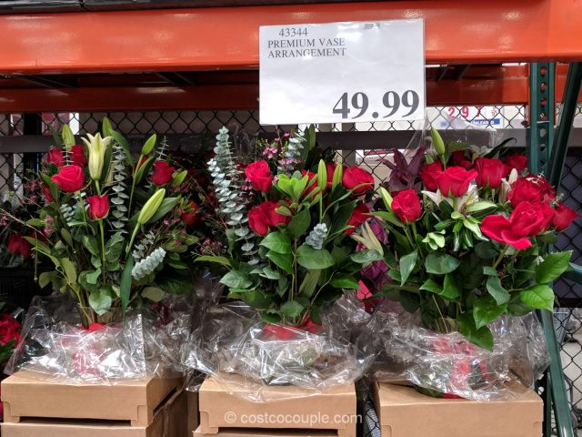 Premium Vase Arrangement Costco