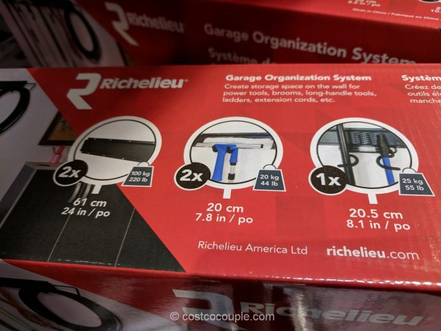 Richelieu Garage Organization Kit Costco
