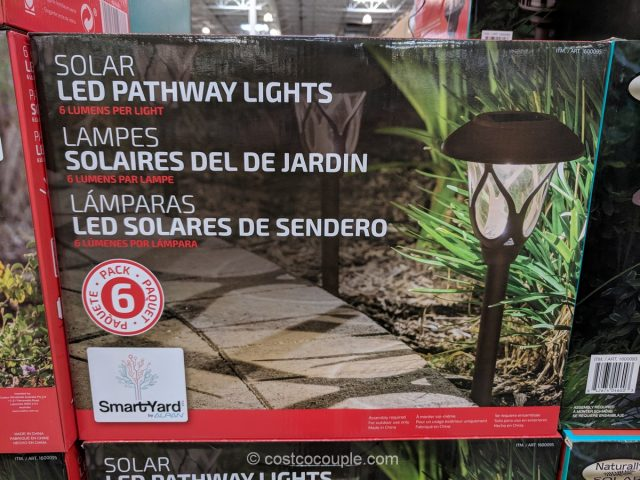 Smartyard Solar Led Pathway Lights