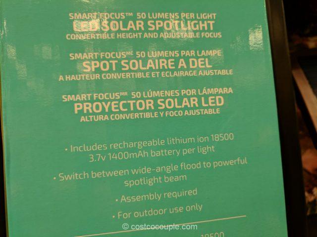 Smartyard Solar Spot Lights Costco