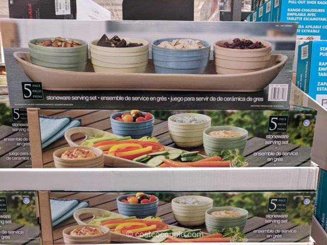 5-Piece Condiment Serving Set Costco