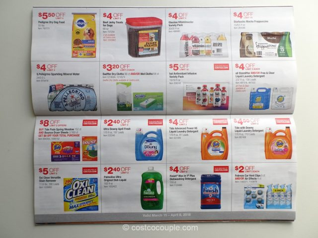 Costco March 2018 Coupon Book 03/15/18 to 04/08/18