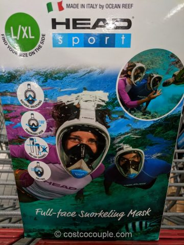 Head Full Face Snorkeling Mask Costco