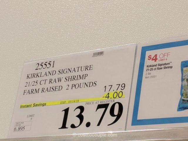 Kirkland Signature Raw Shrimp Costco