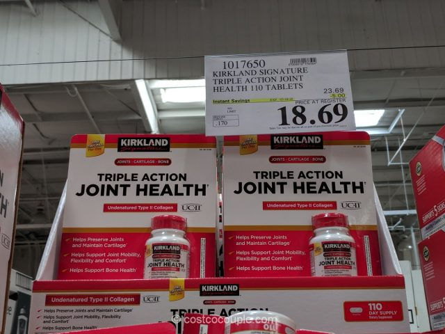 Kirkland Signature Triple Action Joint Health Costco