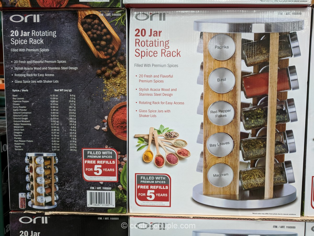 Orii 20 Jar Spice Rack