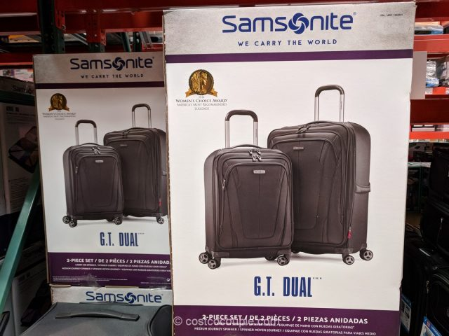 Samsonite GT Dual Luggage Set Costco