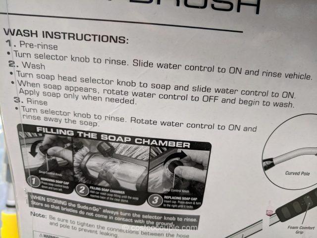 Suds N Go Wash Brush Costco