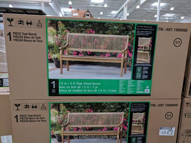 Teak Wood Bench Costco