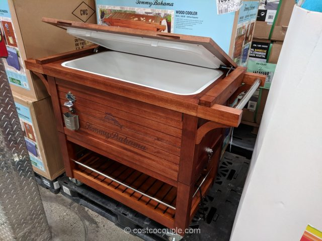 Tommy Bahama Wood Cooler