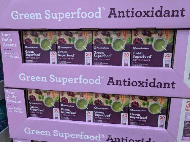 Amazing Grass Green Superfood Antioxidant Costco