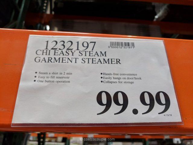 Chi Easy Steam Garment Steamer Costco