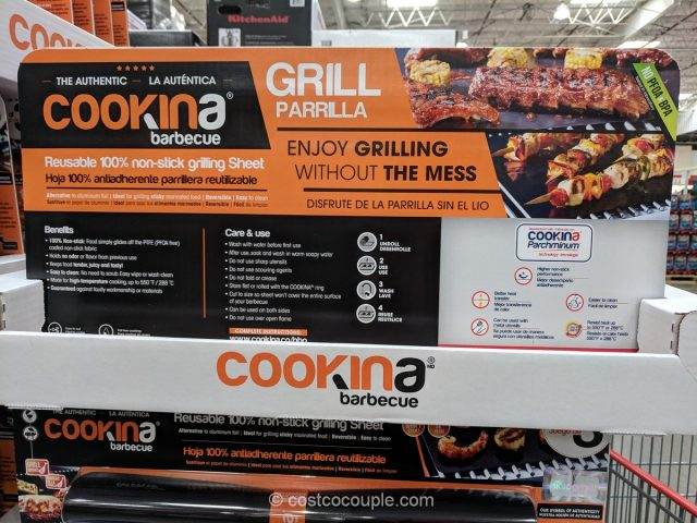 Cookina BBQ Grill Sheets Costco