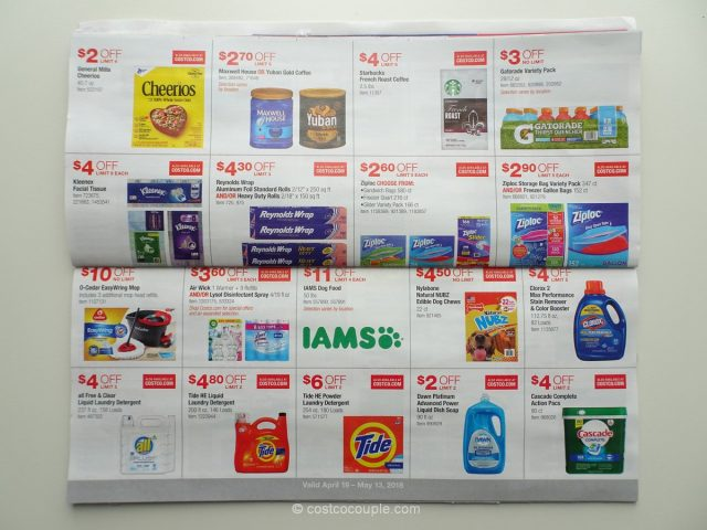 Costco April 2018 Coupon Book 04/19/18 to 05/13/18