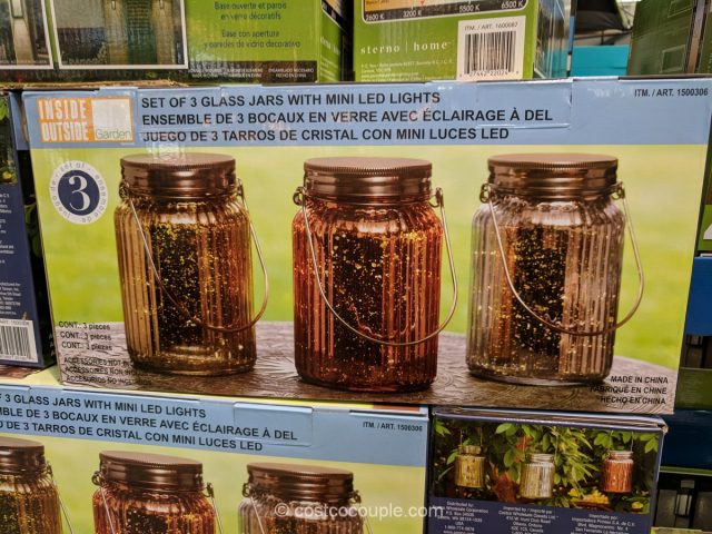 Glass Jars with LED Lights Costco