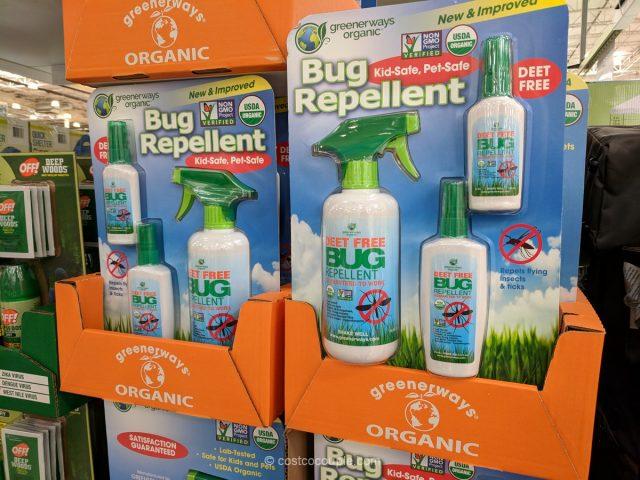 Greenerways Organic Bug Repellent Costco