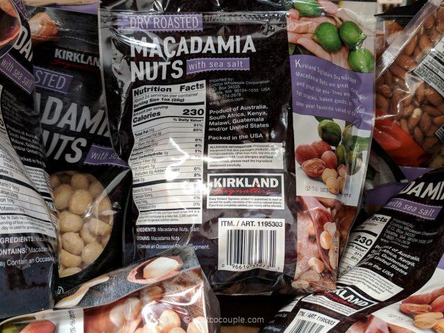 Kirkland Signature Roasted Macadamia Nuts Costco