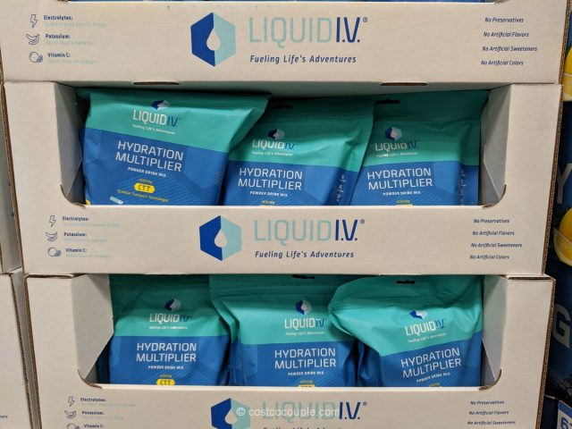 Liquid IV Hydration Multiplier Costco