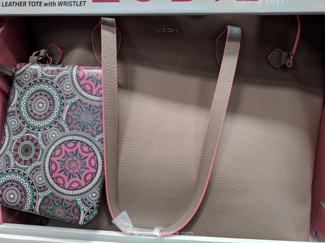Lodis Bliss Leather Tote Costco