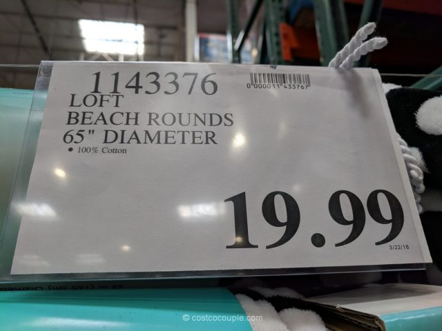 Loft Beach Rounds Costco