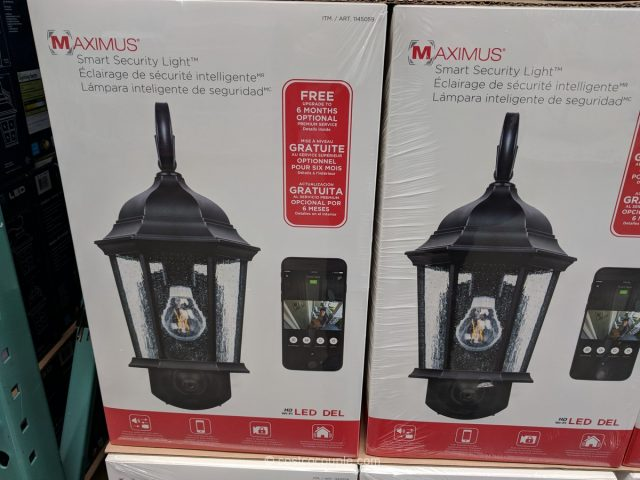 Maximus Smart Security Coach Light