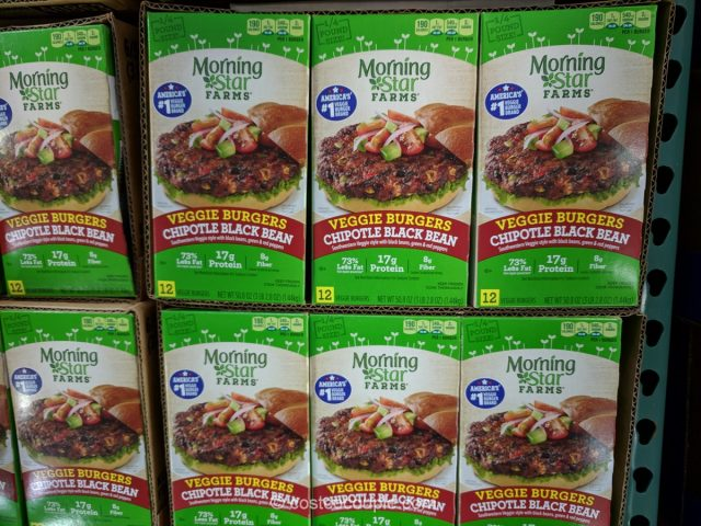 Morningstar Farms Chipotle Black Bean Burger Costco