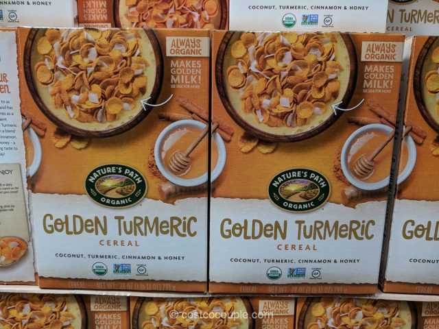 Natures Path Organic Golden Turmeric Cereal Costco