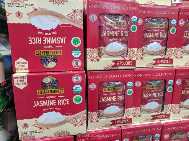 Village Harvest Organic Thai Hom Mali Jasmine Rice Costco